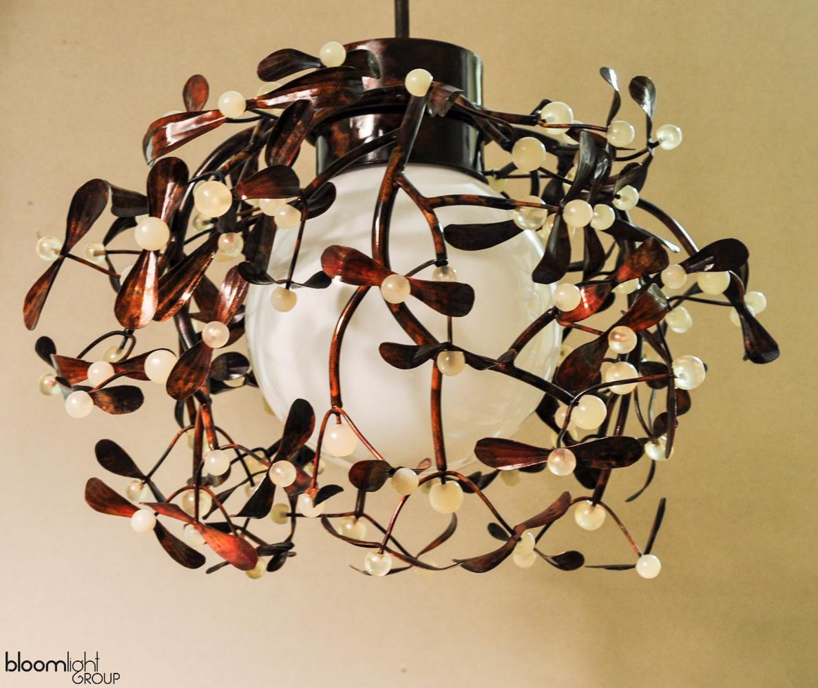 lampa z miedzi
