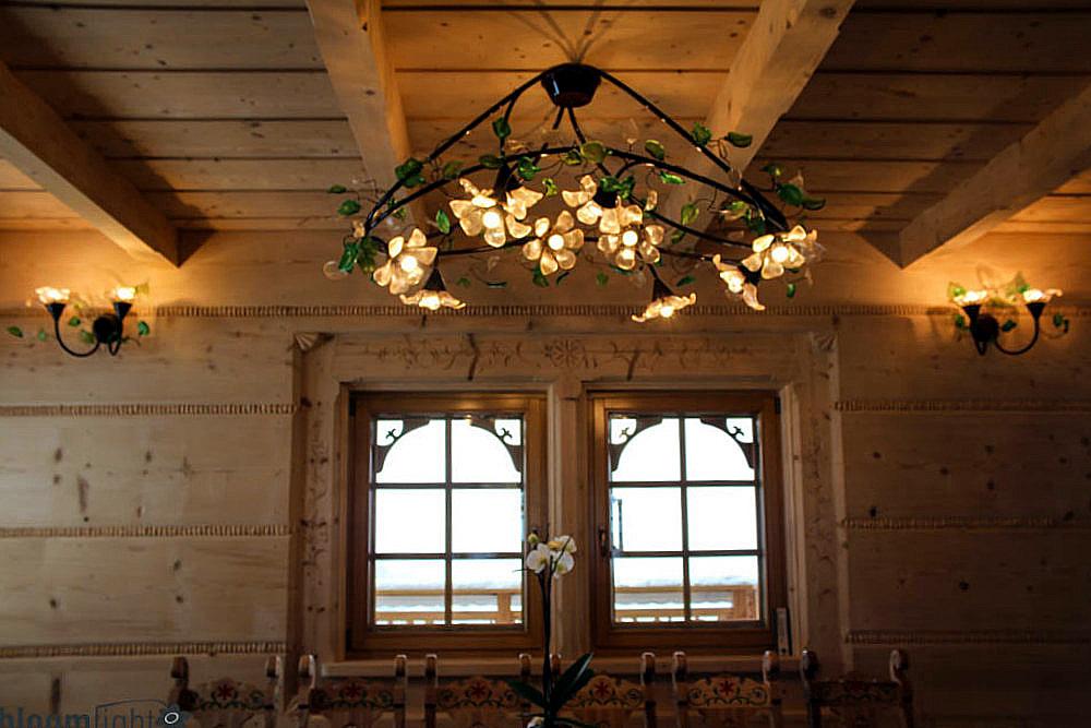 Projekty I Oświetlenie Do Domów Z Drewna Bloomlightcom
