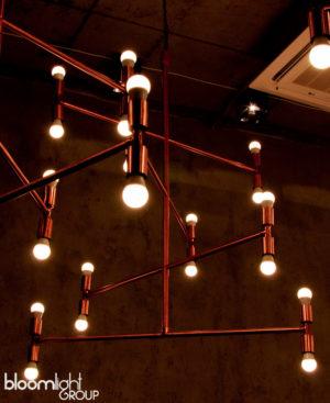 lampa miedziana