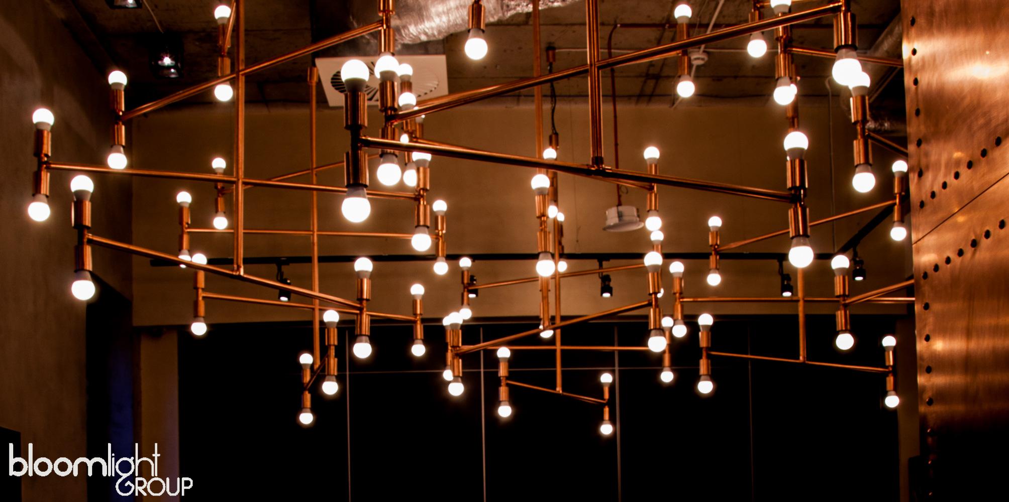 lampy miedziane